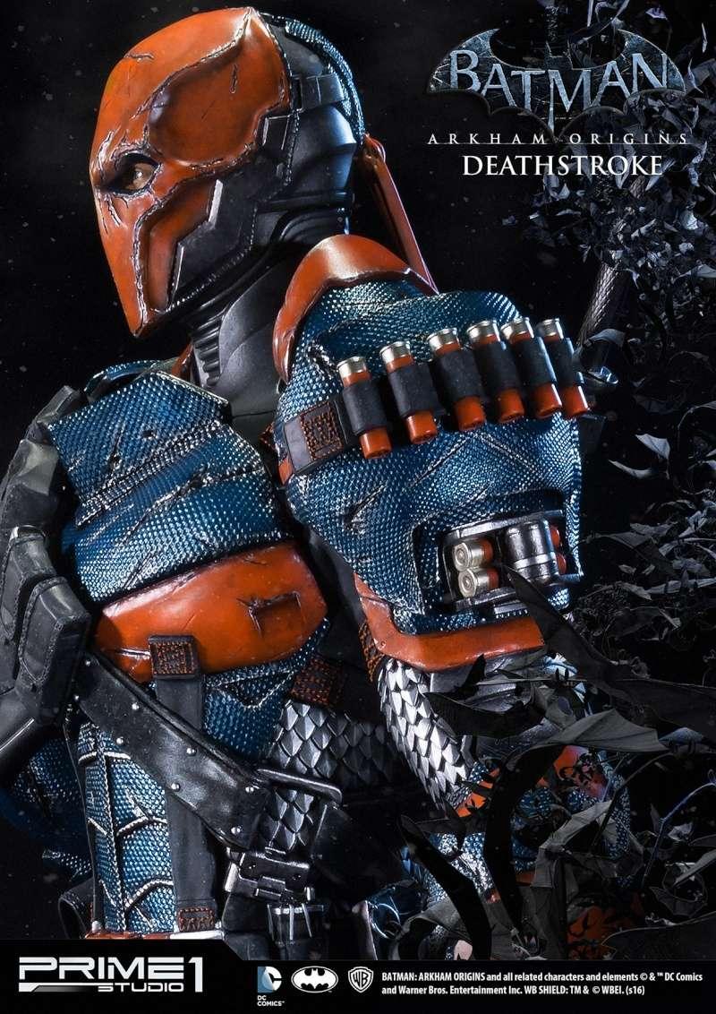 Batman Arkham Origins - Deathstroke 1/3 Statue  12314310