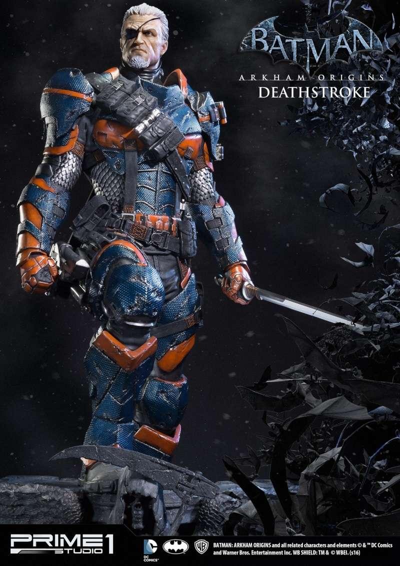 Batman Arkham Origins - Deathstroke 1/3 Statue  12356610