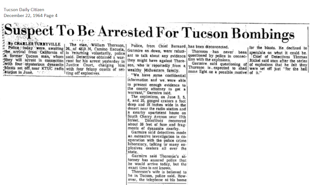 Thoresen's AZ Bombing Incident Thores13