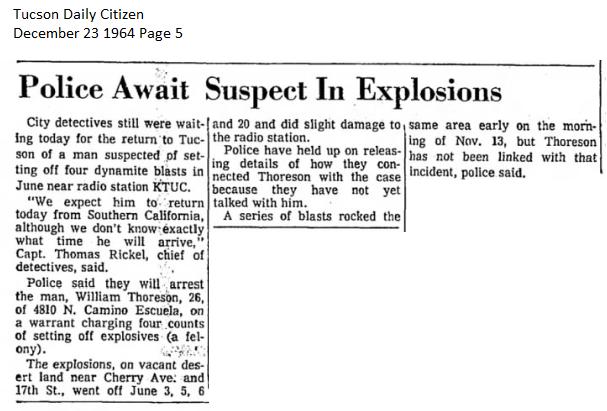 Thoresen's AZ Bombing Incident Thores14