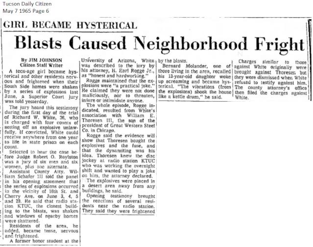 Thoresen's AZ Bombing Incident Thores17