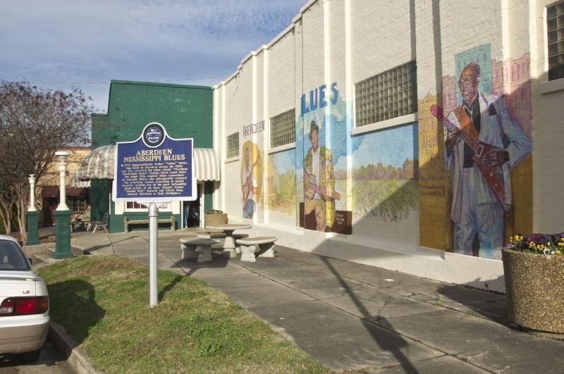 Le blues authentique dans les juke-joints du delta du Mississippi aux États-Unis - Page 2 Aberde13