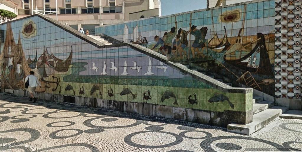 """Les """"Moliceiros"""" d'Aveiro au Portugal. Azulej10"""
