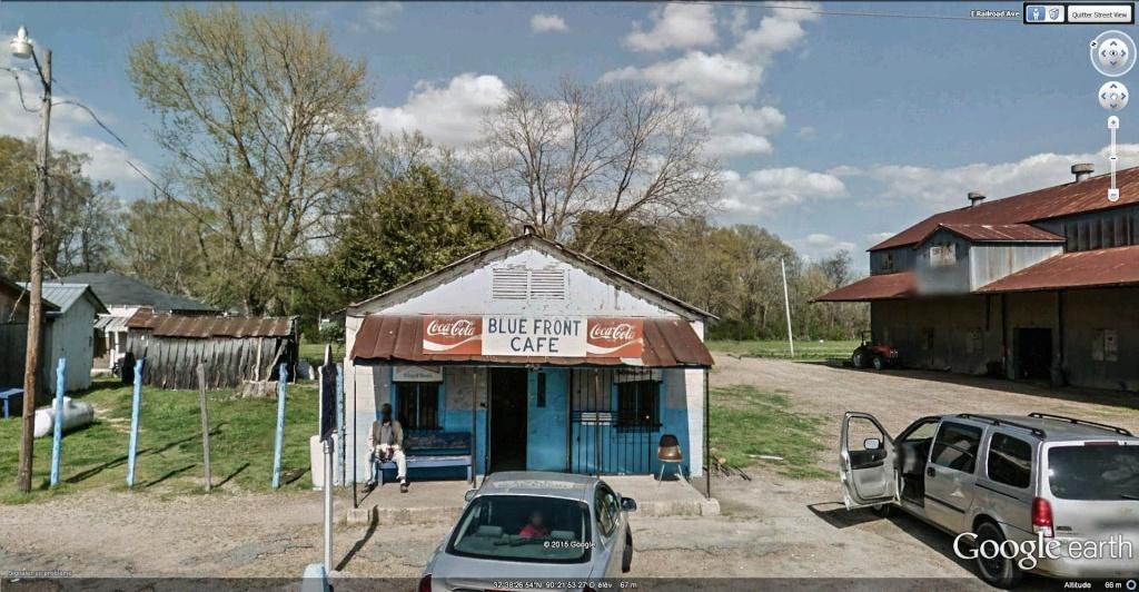 Le blues authentique dans les juke-joints du delta du Mississippi aux États-Unis Blue_f11
