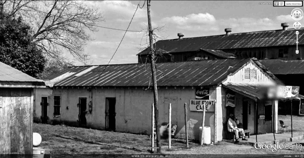 Le blues authentique dans les juke-joints du delta du Mississippi aux États-Unis Blue_f12