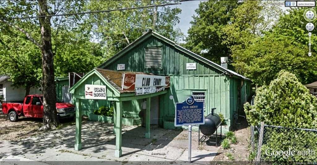 Le blues authentique dans les juke-joints du delta du Mississippi aux États-Unis Club_e11