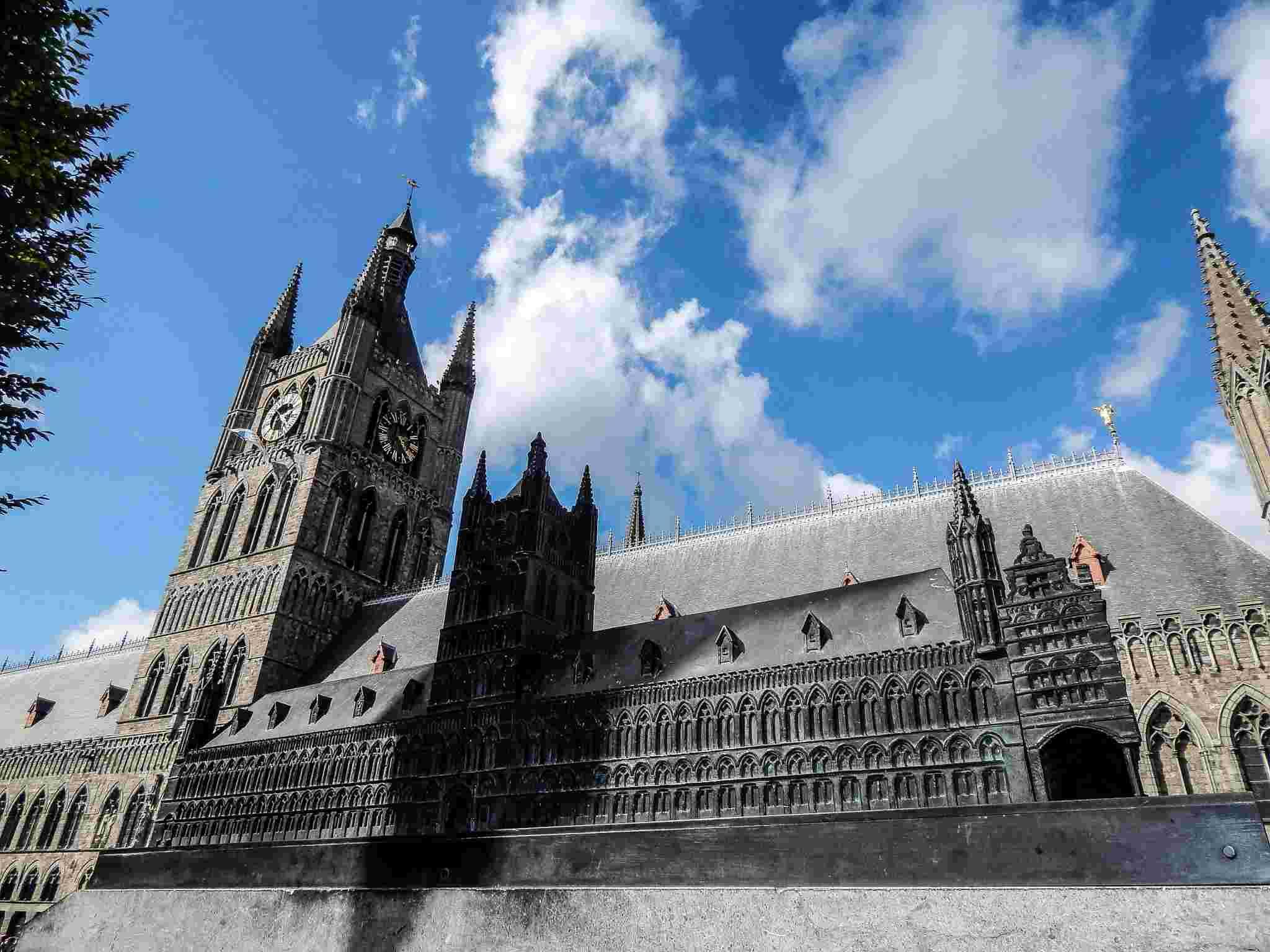 Miniatures des monuments de Flandre - Belgique Dscn8810