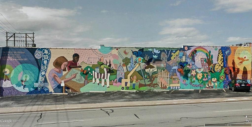 STREET VIEW : les fresques murales - MONDE (hors France) - Page 20 Fresqu10