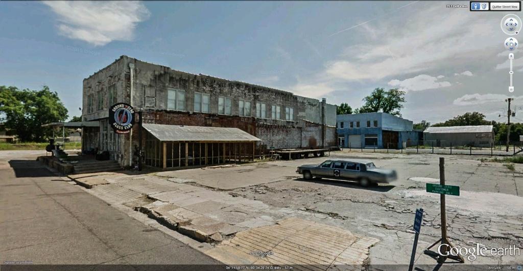 Le blues authentique dans les juke-joints du delta du Mississippi aux États-Unis Ground11