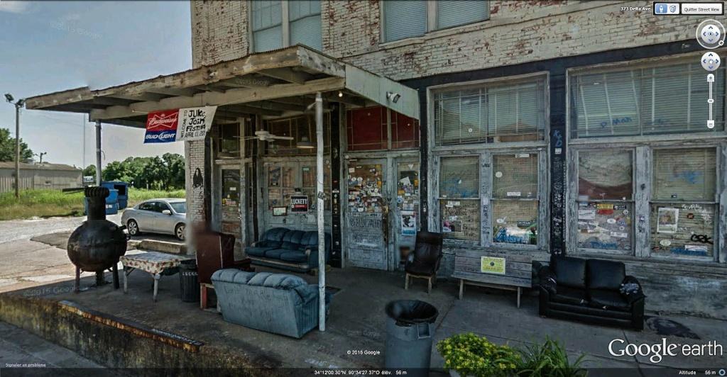 Le blues authentique dans les juke-joints du delta du Mississippi aux États-Unis Ground12