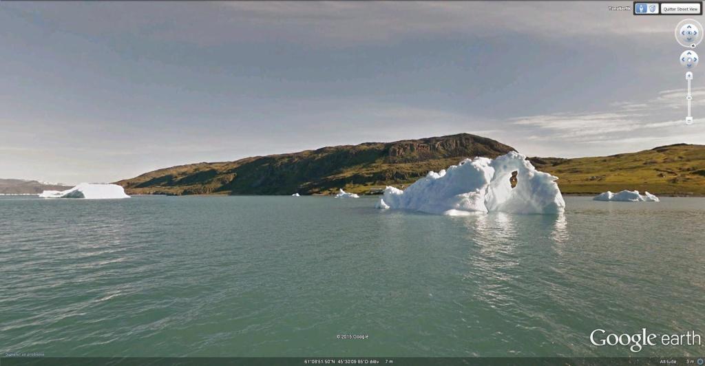 Traversée d'Qassiarsuk vers Narsarsuaq, Kujalleq au Groenland. Iceber10