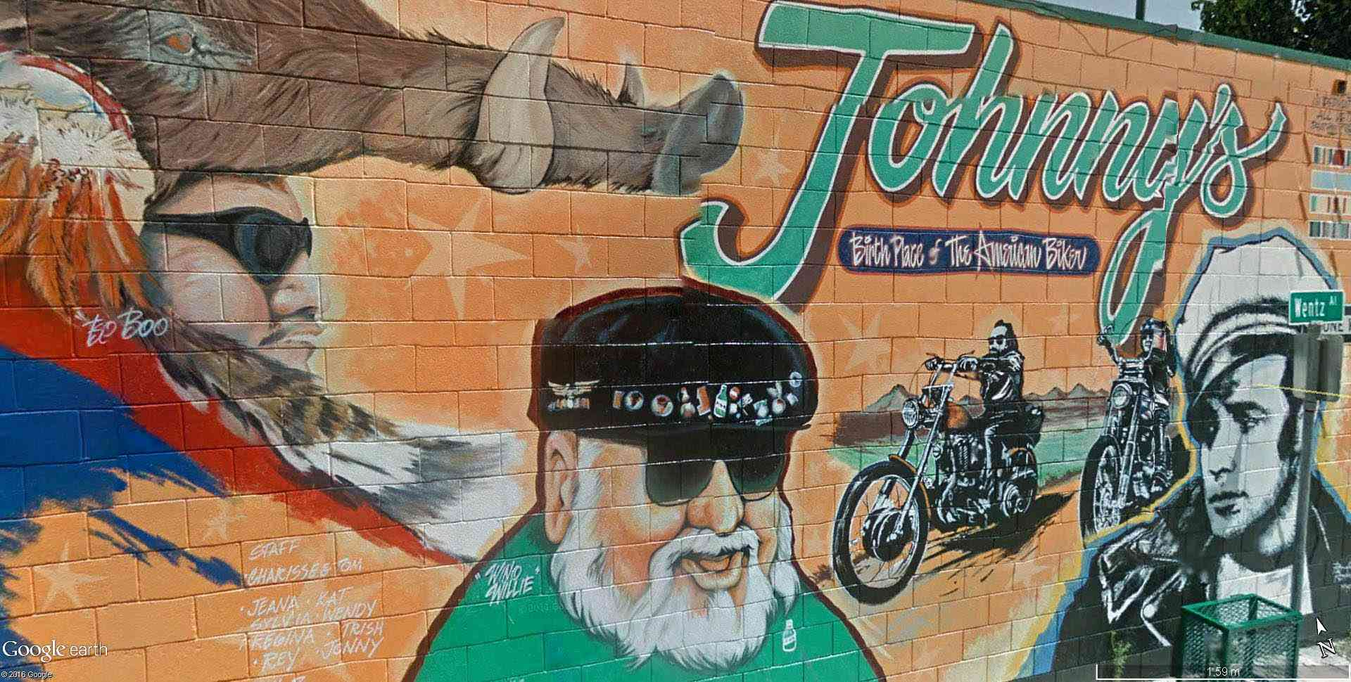 STREET VIEW : les fresques murales - MONDE (hors France) - Page 20 Johnny11