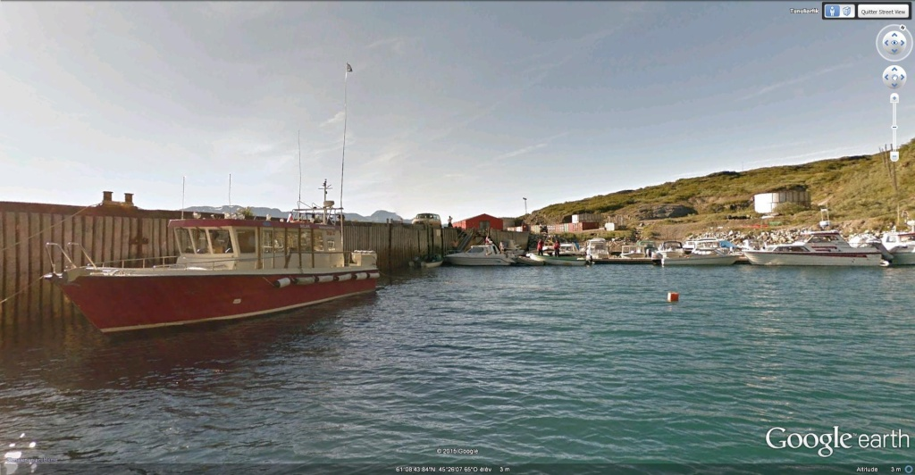Traversée d'Qassiarsuk vers Narsarsuaq, Kujalleq au Groenland. Narsar10