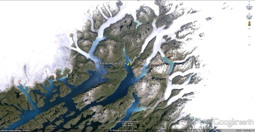 Traversée d'Qassiarsuk vers Narsarsuaq, Kujalleq au Groenland. Qassia10