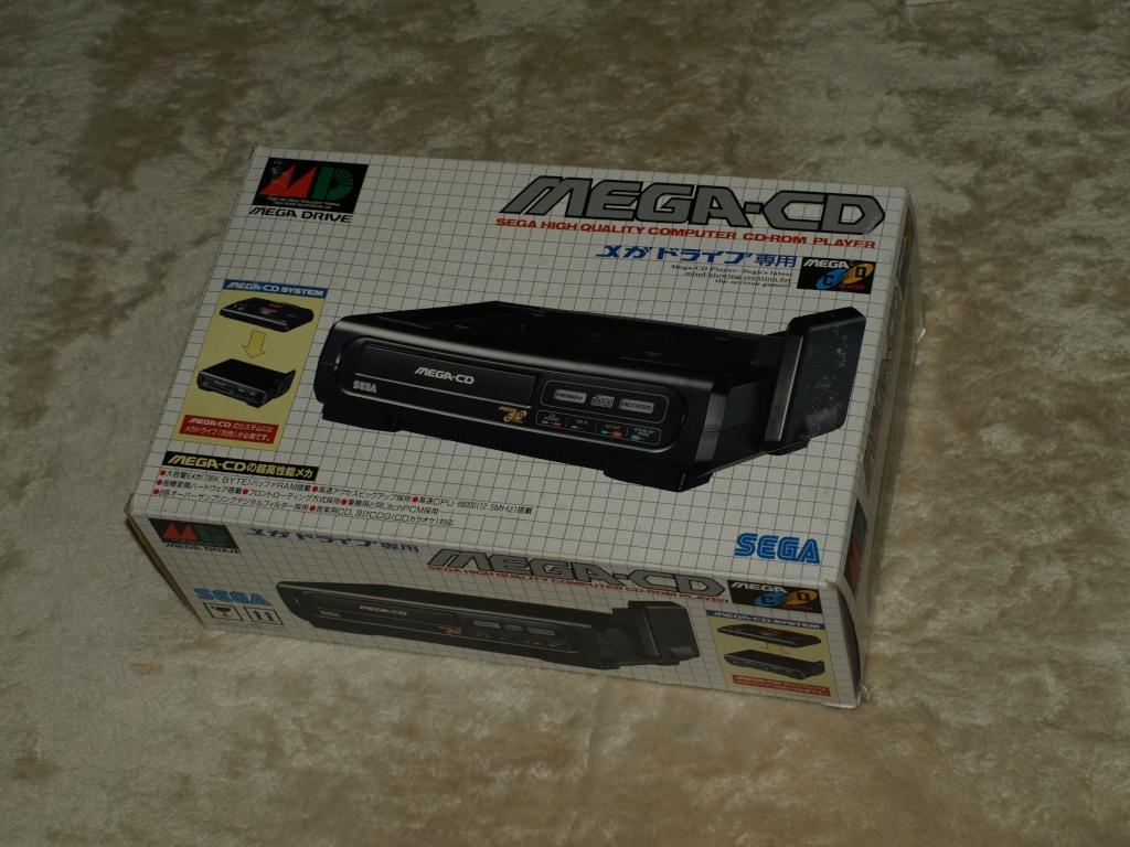 [VDS] Mega-CD1 jap en boite avec condensateurs et lentille a changer P1136410