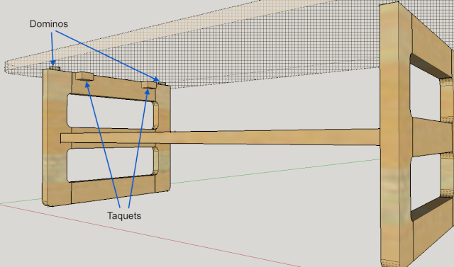 Table basse en bois de récup' Captur10