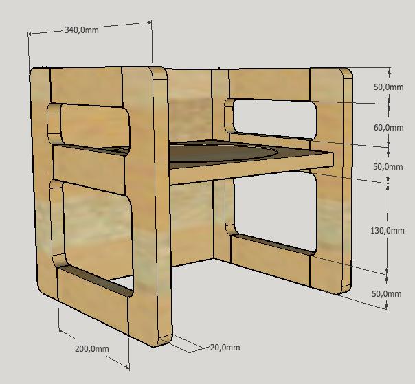 Table basse en bois de récup' Captur11