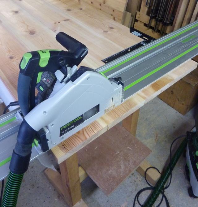 Table basse en bois de récup' Dycoup10