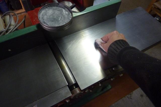 Table basse en bois de récup' Lubrif10