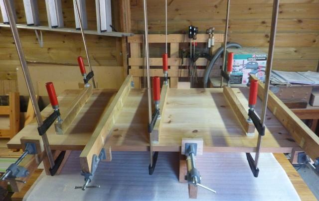 Table basse en bois de récup' Platea10