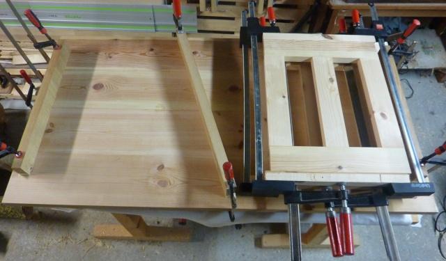 Table basse en bois de récup' Platea11