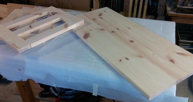 Table basse en bois de récup' Platea13
