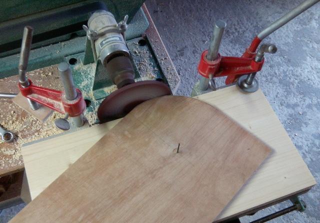 Table basse en bois de récup' Poncag10