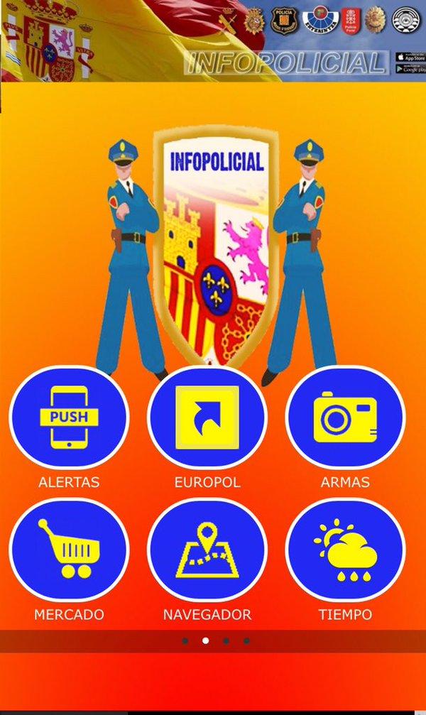 (#Formación) Nueva web + Buscados EUROPOL  App_eu10