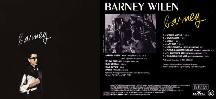 [Jazz] Playlist - Page 6 Barney13