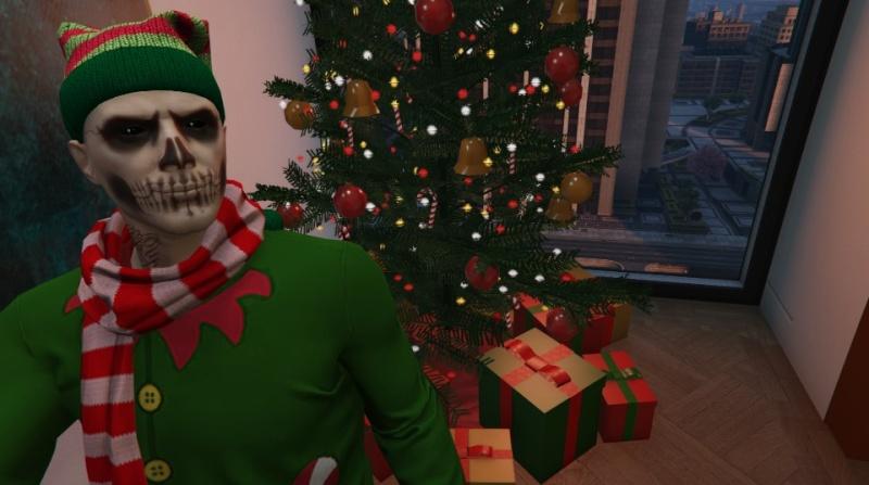GTA V: Noël avant l heure Yenits11