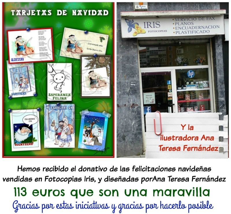 Felicitaciones, Tarjetas Navideñas de Olentzero y Maridomingi Picmon23