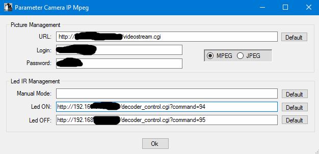 Modification d'une caméra IP pour éteindre les Leds IR Snip_214