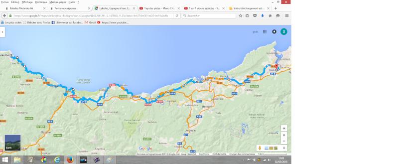 mon road trip espagnol Itiner11