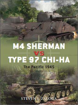 043 - M4 Sherman VS Type 97 Chi-Ha. The pacific 1945 Captu206