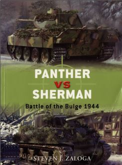 013 - Panther VS Sherman. Battle of the Bulge 1944. Captu208