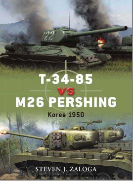 032 - T-34-85 VS M26 Pershing. Korea 1950. Captu215