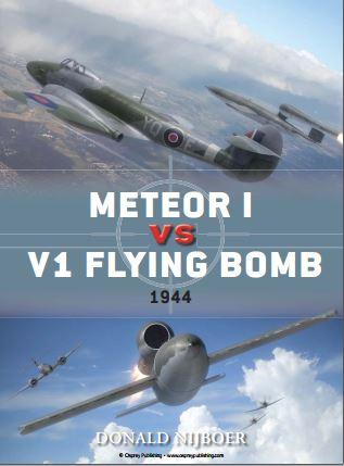 045 - Meteor I vs V1. Flying Bomb 1944. Captu224