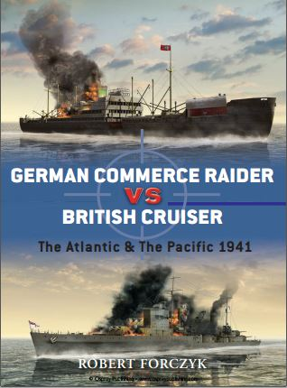 027 - German commerce raider VS British cruiser. The Atlantic & the Pacific 1941. Captu234