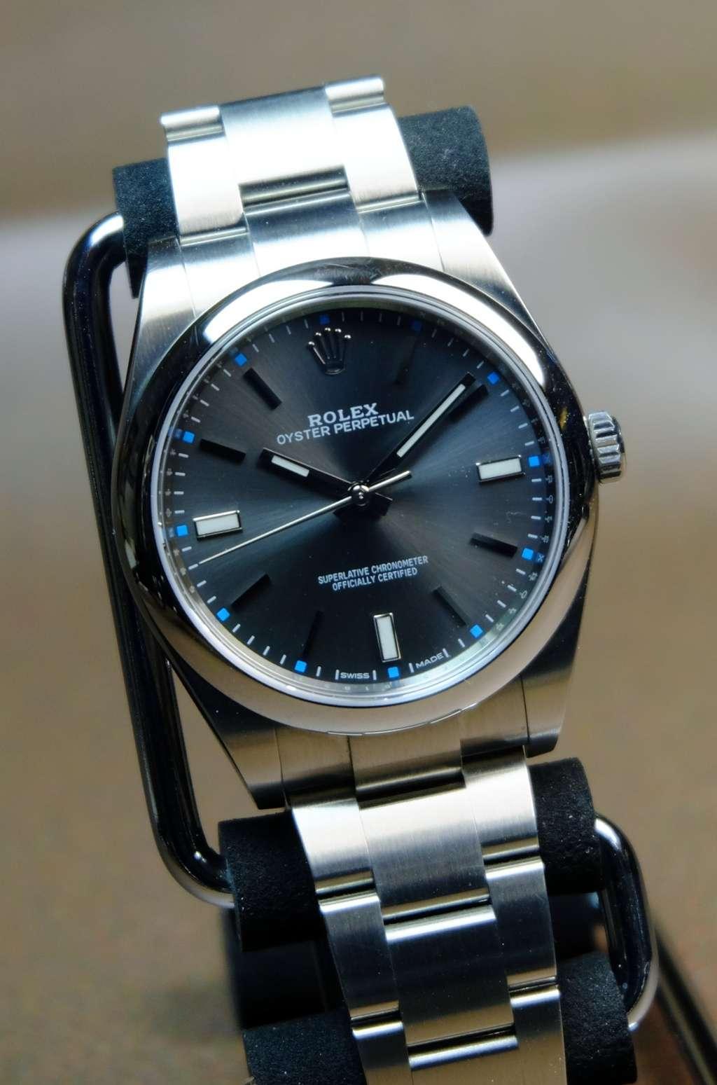 Omega Aqua Terra ou Rolex Oyster Perpetual Dscf2319