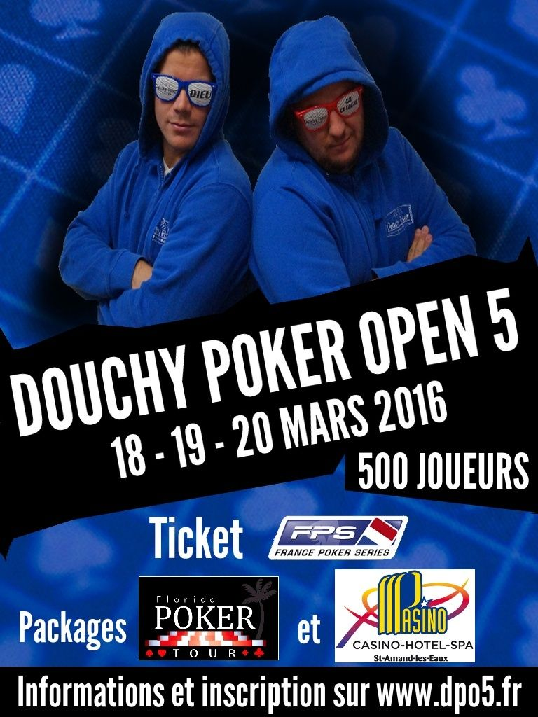 Douchy Poker Open 5 - Mars 2016 Affich11