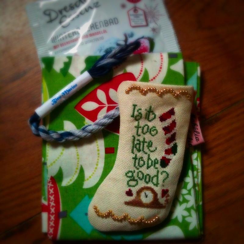 Mini-bottes pour le sapin - Noël 2015 - PHOTOS Image10