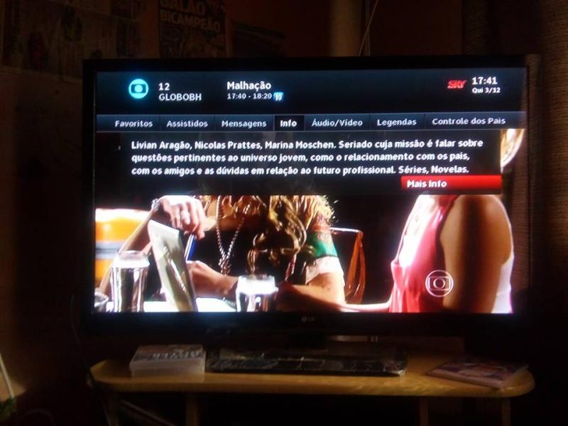 globo - Globo Minas volta a ser transmitido em 16:9 na SKY 12316310