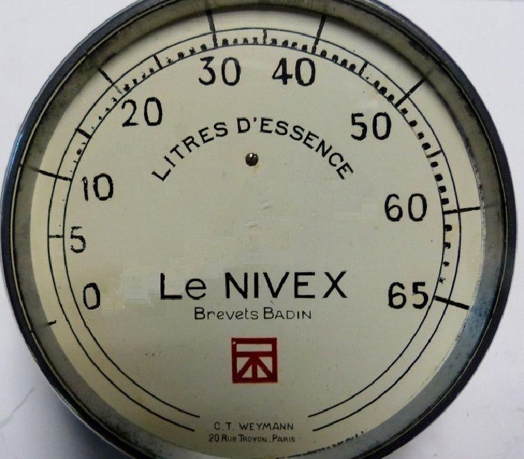 cadran téléjauge B10 Nivex10