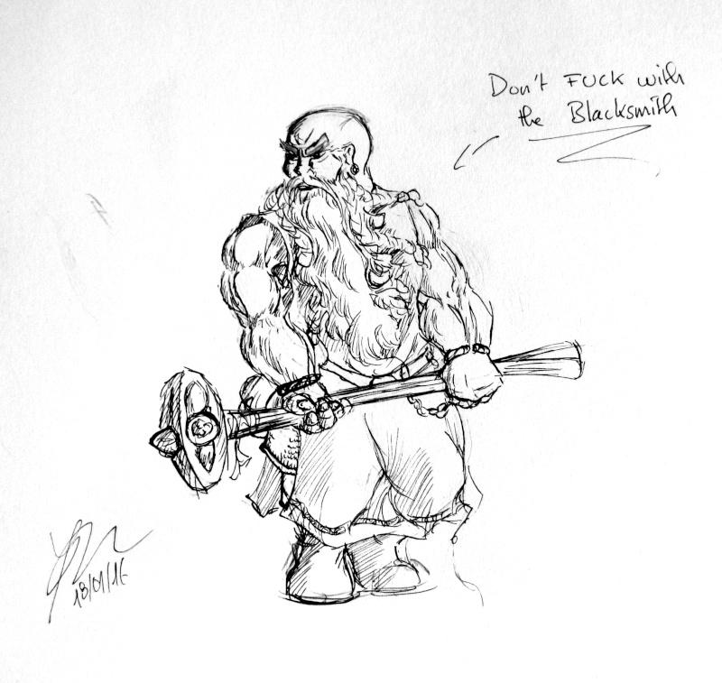 [Dess] Les dessins de Gromdal - Page 2 2016_011