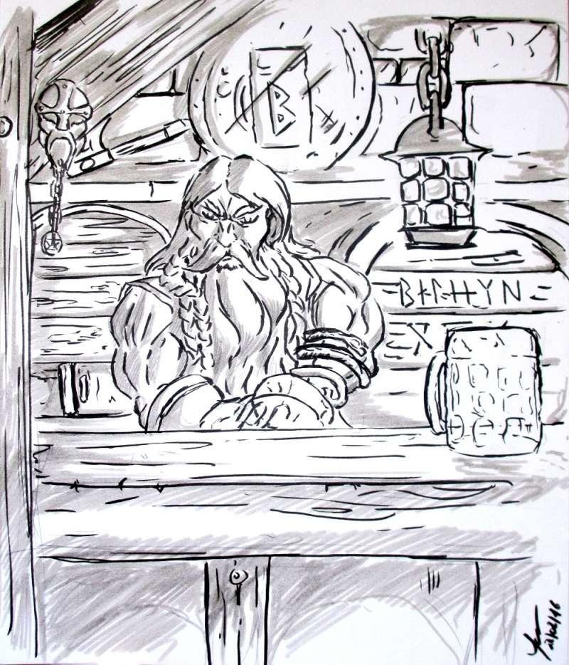 [Dessin] Les dessins de Gromdal - Page 2 2016_027