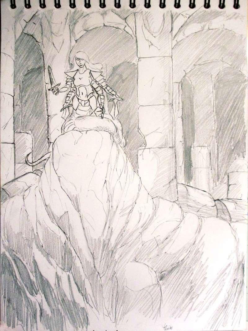 [Dessin] Les dessins de Gromdal - Page 2 2016_028