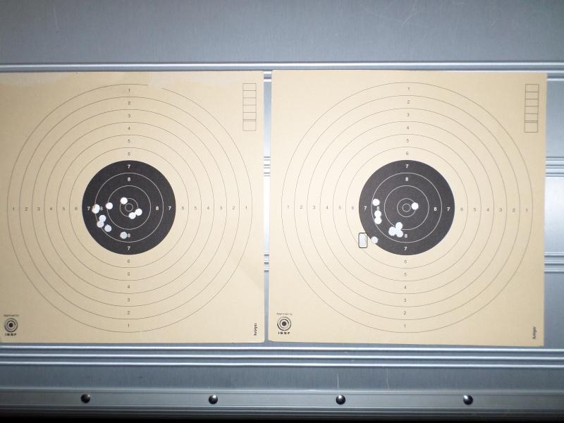 Mes 1er carton avec ma première carabine .... Sam_2311