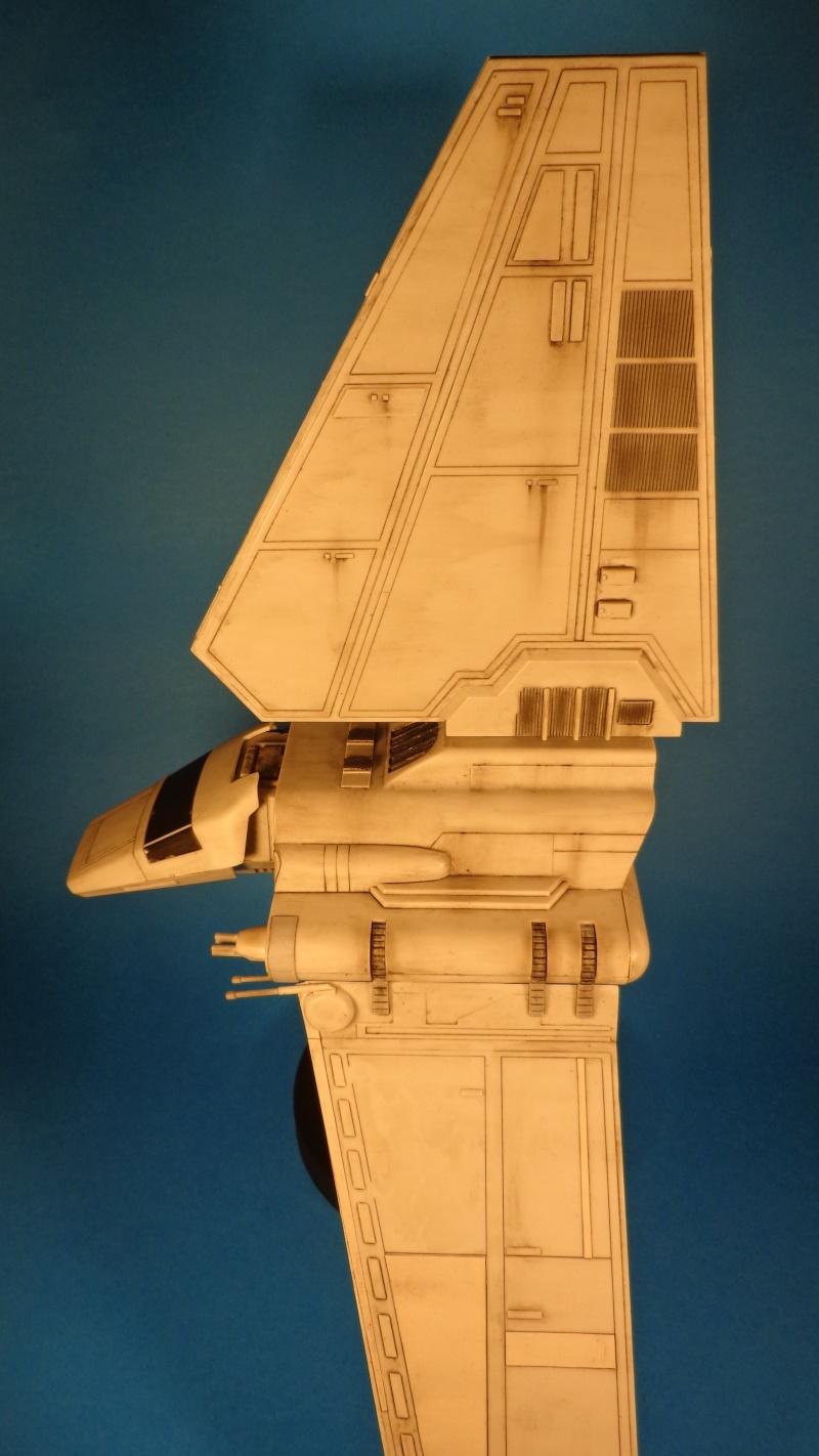Imperial Shuttle easy kit revell Dsc02212