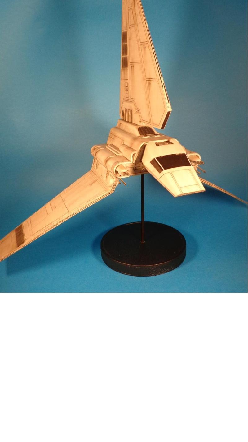 Imperial Shuttle easy kit revell Dsc02213