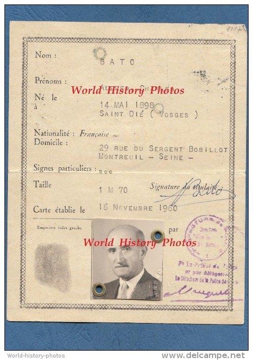 Cartes d'identité 10368110
